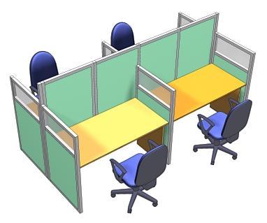 Рабочие места и их оформление для офисных помещений, организация труда для служащих